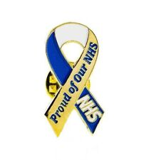 NHS PROUD OF OUR NHS NATIONAL HEALTH SERVICE BADGE - NURSE - DOCTOR - STUDENT