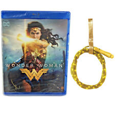 Wonder Woman Movie (Blu-ray) Brand NEW (Sealed) with Light Up Lasso Party Prop!