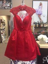 Sherri Hill 32304 Stunning Red Homecoming Cocktail Dress sz 00