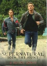 Supernatural Seasons 1-3 Base Card Parallel Gold 07 A Watery Grave