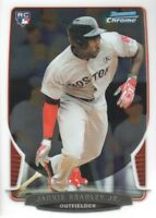2013 Bowman Chrome Baseball #89 Jackie Bradley Jr. RC Boston Red Sox