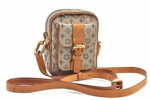 Louis Vuitton Monogram Mini Juliet PM Shoulder Cross Body Bag M92005 Blue E0031