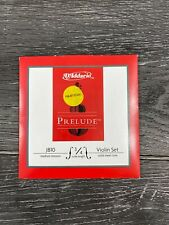 NEW D'Addario Prelude Violin Strings Sets J810 (Size: 3/4)