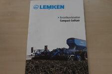 158052) Lemken Compact Solitair Prospekt 01/2011