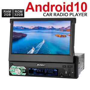 """Pumpkin 7"""" 1 DIN Android 10.0 Autoradio GPS Navi Bluetooth DAB AUX USB WiFi 32GB"""