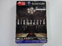 BIOHAZARD Capcom Nintendo Gamecube GC JAPAN