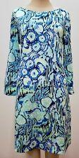 "New Lilly Pulitzer Women's Marlowe Boatneck Dress ""Sunset Swim"" M, L, XL"