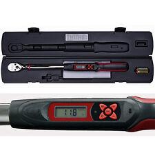 """DIGITALER DREHMOMENTSCHLÜSSEL DIGITAL POWERHAND LCD RATSCHE 68 - 340 Nm 1/2"""""""
