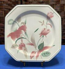 "New listing Mikasa Silk Flowers Dinner Plate-10"""