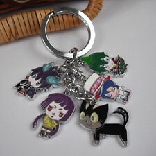 Blue Exorcist Ao no Cat Character Toy Figure 5 Pendant keychain Keyring Charm