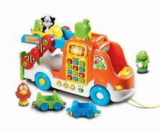 Kids Ride On Toy Vtech Pull Learn Car Carrier New Trike Toddler Gift F