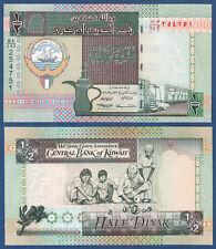 KUWEIT / KUWAIT 1/2 Dinar L.1968 (1994) UNC  P.24 f