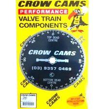 "CROW CAMS 8"" 23cm DIAMETER CAMSHAFT DEGREE WHEEL"