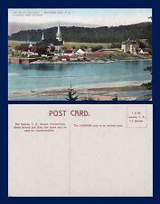 CANADA QUEBEC MURRAY BAY EGLISE ET COUVENT CONVENT AND CHURCH CIRCA 1910