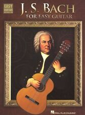 J S Bach for Easy Guitar Learn to Play Classical Beginner TAB Music Book