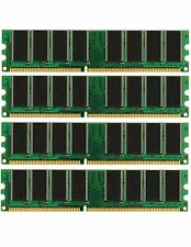 4GB (4X1GB) DDR Memory PC-3200 Gateway 5200S