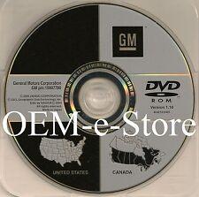 Only 2007 2008 2009 Cadillac SRX DTS GPS Navigation OEM DVD Map v1.10 U.S Canada