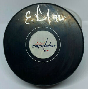 Washington Capitals Evgeny Kuznetsov Signed Puck Fanatics Hologram