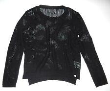 New Vans Womens Maynard Knit Mesh Sweater Top Medium
