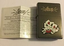 Sailor Jerry Lighter Lucky Cards New Sealed Unused