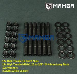 Stud Kit Turbo & Exhaust Manifold for Toyota Starlet Glanza 4E-FE/4E-FTE 5E-FE