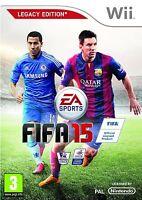 FIFA 15 -- Legacy Edition (Nintendo Wii, 2014)