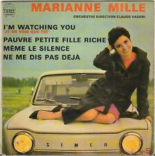 "MARIANNE MILLE ""I'M WATCHING YOU"" 60'S EP POCHETTE AUTO !"