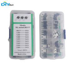 10value5pcs L78lm317t To 220 Transistor Assortment Kit Voltage Regulator Box