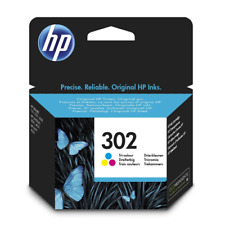 HP 302 (F6U65AE) cartuccia inchiostro ORIGINALE ~190 pagine per DeskJet 3636 All