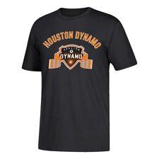 """Houston Dynamo MLS Men's Black """"Club Tradition"""" Team 60/40 Short Sleeve T-Shirt"""