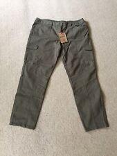 Bnwt Mantarey Skinny Combat Jeans Trousers Sz 18 L29 Khaki Rrp £35