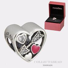 Authentic Pandora Silver Struck By Love Charm Valentine's Day Gift Set B800426