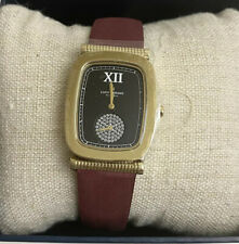 Lucky Brand Women's Lucky Laurel Berry Leather Watch NWT  $175