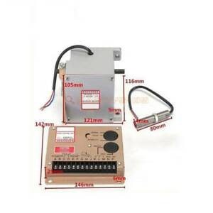 ESD5500E Speed Controller ADC225-12V Actuator + MSP675 Magnetic Speed Sensor New