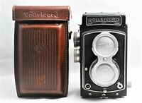 [Exc+5 in Case] ROLLEICORD III Schneider Xenar 75mm f/3.5 TLR Camera From JAPAN