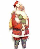 "Vintage 1983 Dorothy Dear Designs 24"" Plush Santa Claus Pillow Plush Christmas"