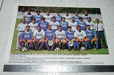 CLIPPING POSTER FOOTBALL 1988-1989 LA ROCHE SUR YON AEPB
