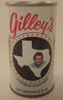 Vintage  Mickey Gilley's A Premium Texas Beer Can - Pull Tab Beer Can