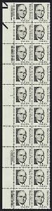 #1862 20c Harry S Truman, Plate Block [1 Left] Mint **ANY 4=FREE SHIPPING**