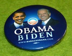 Rare badge Obama Biden campagne présidentielle 2008