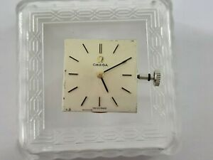 OMEGA DIAL & MOVEMENT CAL.620 MANUAL 17 JEWELS  SWISS MADE IN WORKING CONDITION