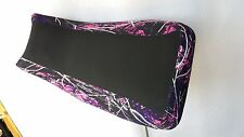 suzuki quadrunner 500 seat cover muddy girl pink camo fits all years