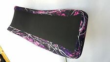kawasaki prairie 650 700  seat cover muddy girl pink camo fits all years