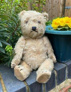 ANTIQUE VINTAGE CHILTERN TEDDY BEAR TLC