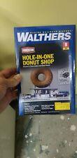 n scale model railway donut shop