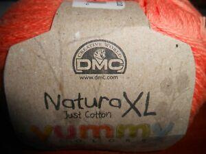 DMC Natura XL - Yummy Colours 100% Cotton Peach 100 g ball