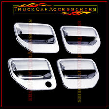 For HONDA Ridgeline 2006-2011 2012 2013 2014 Chrome 4 Door Handle Covers w/o PK