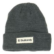 Skullcandy Mens Knit Beanie Hat Charcoal One Size New