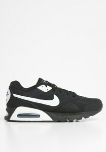 Nike Air Max IVO Trainers Shoes Black White Gym Casual Sports Running Sneakers