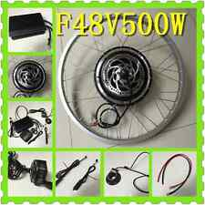 48V 500W F Electric Bicycles Kit LCD DISC Conversion Brushless Motors PAS BY UPS
